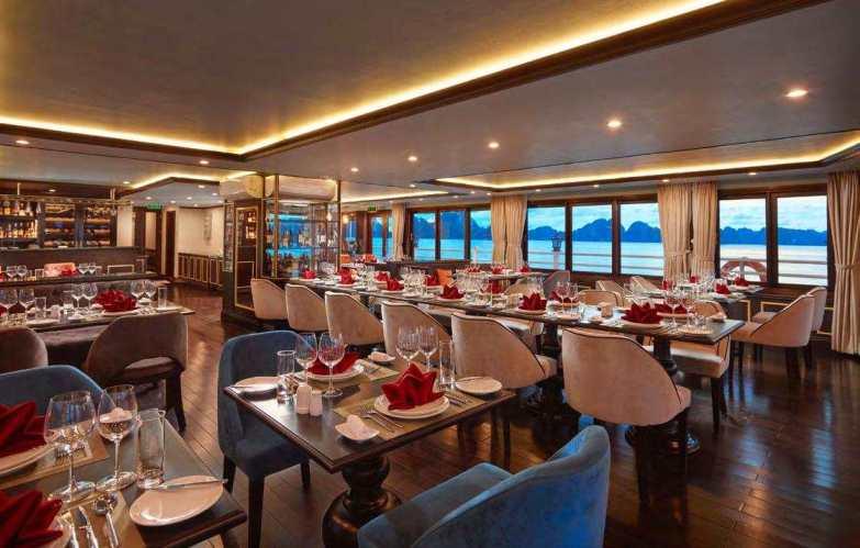 Athena cruise restaurant