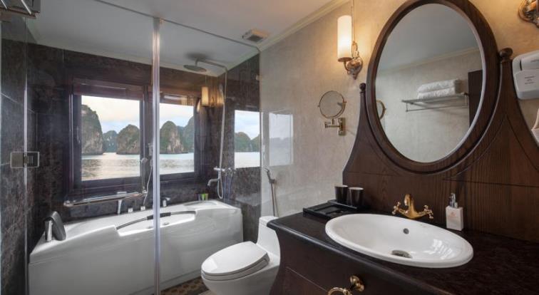 Athena cruise bath room