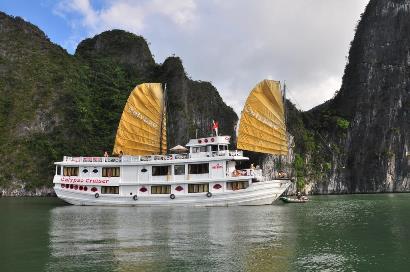 Tour du lịch Hạ Long trên du thuyền Calypso Cruiser