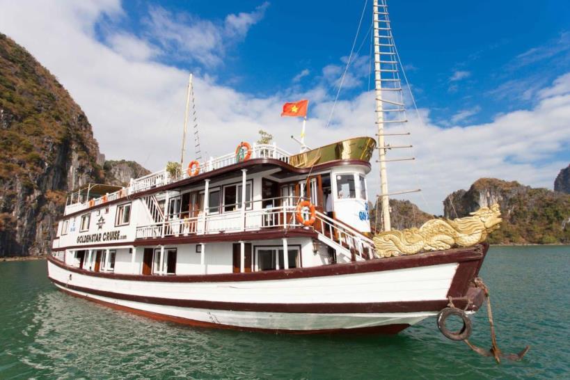 Tour du lịch Vịnh Hạ Long 2 ngày trên du thuyền Golden Star