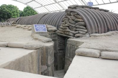 Hầm D cát - Điện Biên Phủ