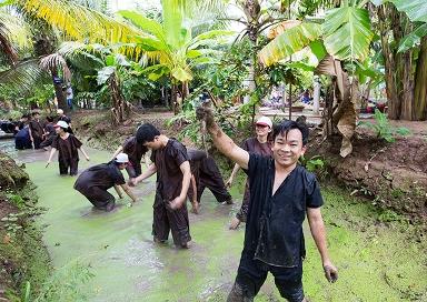 Bắt Cá KDL Vinh Sang