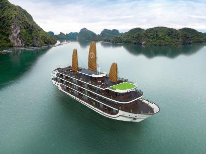 Tour du lịch Vịnh Lan Hạ du thuyền La Regina Legend