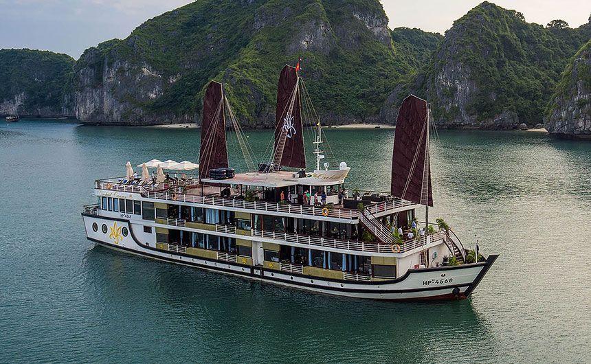 Du thuyền Orchid cruise