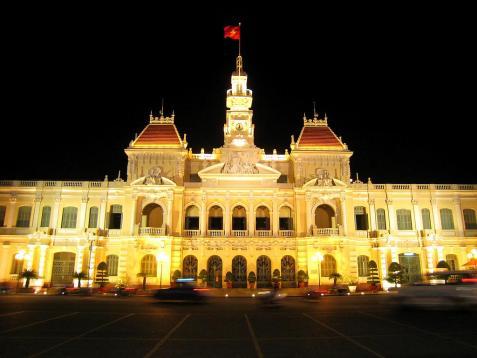 Tour du lịch tham quan Tp Hồ Chí Minh
