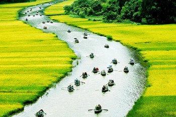 Tour du lịch Hoa Lư, Tam Cốc 1 ngày