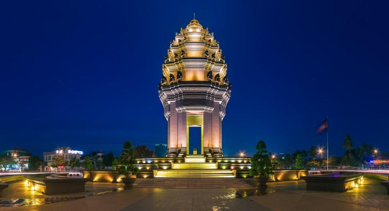 Tượng Đài Độc Lập - Cambodia