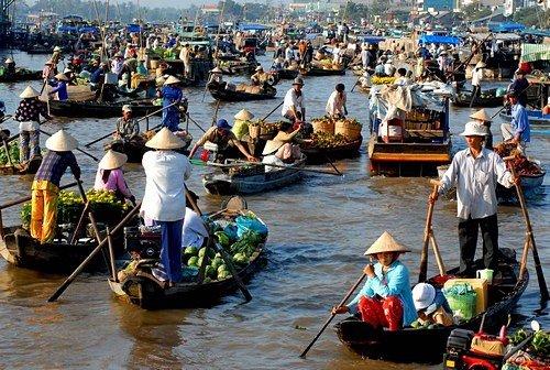 Tour du lịch Miền Tây 1 ngày (Chợ nổi Cái Bè - Đảo Tân Phong - VIP tour)