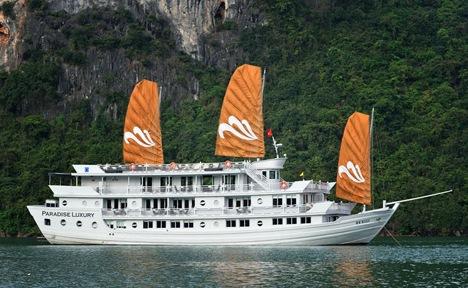 Tour du lịch Hạ Long 2 ngày - Du thuyền Paradise cruise