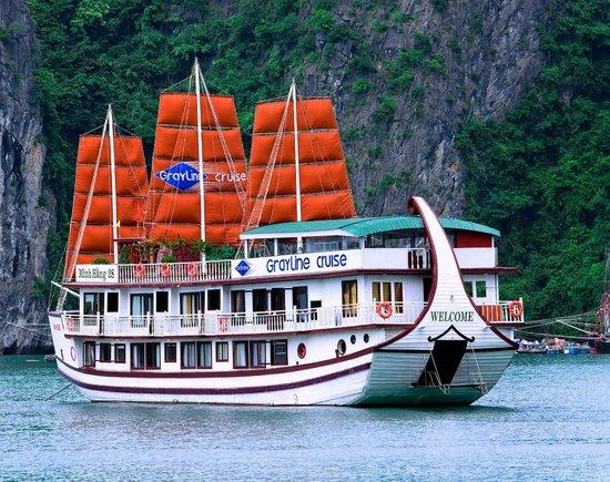 Tour du lịch Hạ Long 2 ngày - Du thuyền Gray line cruise