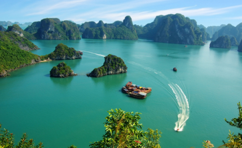tour du lich ha long 1 ngay