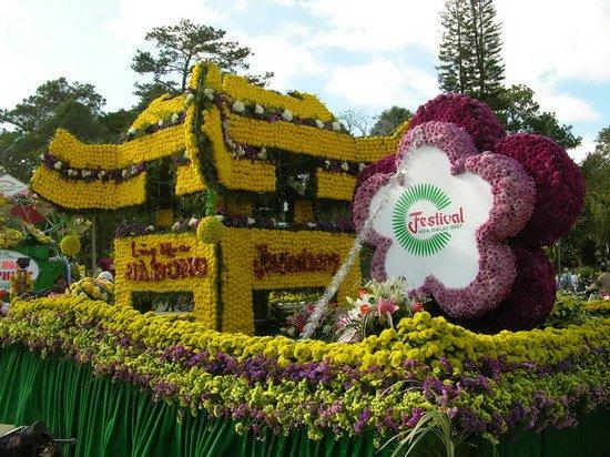 Tour du lịch Đà Lạt Festival hoa 2017