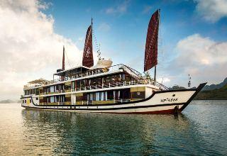 Tour du lịch Vịnh Lan Hạ, Vịnh Hạ Long, Vịnh Bái Tử Long 3 ngày - Du thuyền Orchid cruise
