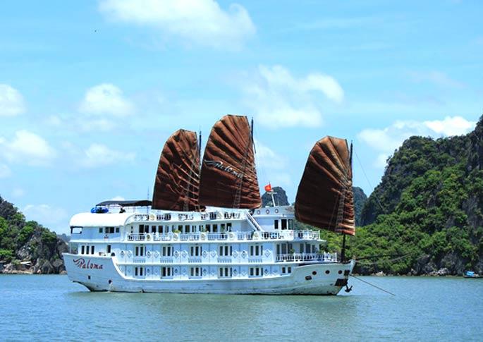 Tour Du thuyền Paloma cruise - 2 ngày 1 đêm